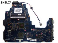 SHELI For For Toshiba C660 C665 Motherboard with E 350 cpu HD6330 K000115130 PWWBE LA 6846P
