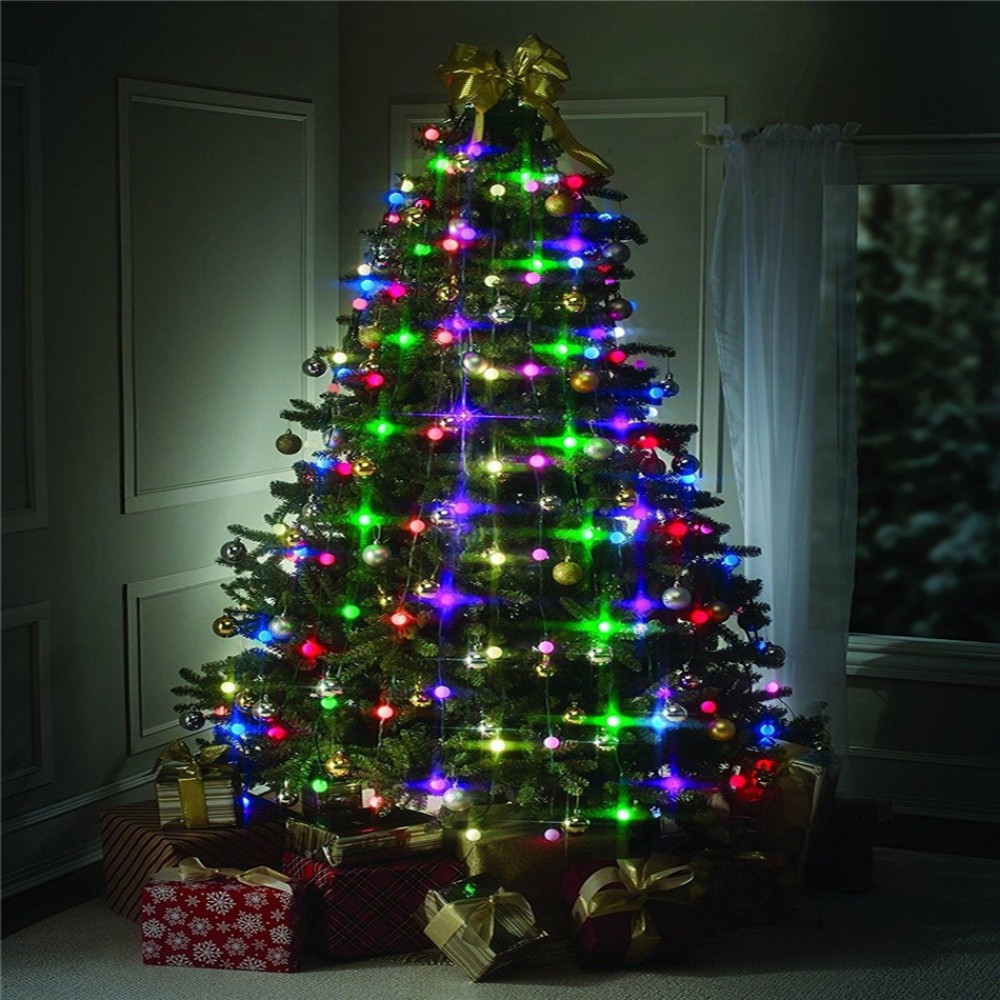 VNL Christmas Tree LED String Lights Colourful Changeable Twinkling Night  Wedding Lamp Holiday Home Garden Party Decoration