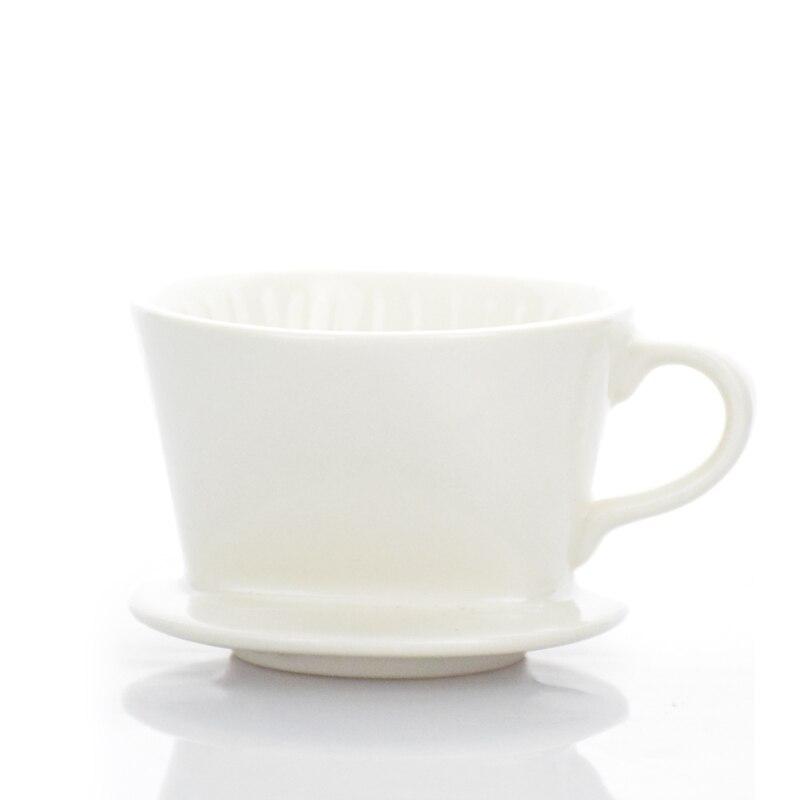 1PC Penghantaran Percuma Espresso V60 Coffee Dripper Seramik V60 - Dapur, makan dan bar - Foto 2