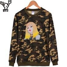 BlackPink Camo Sweatshirt