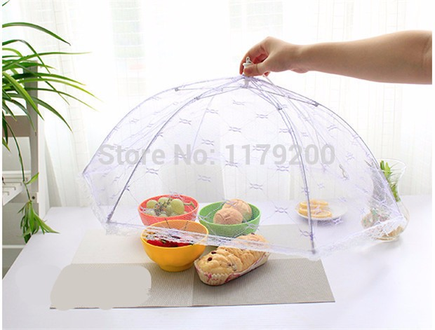 Food-Covers-Umbrella-Style-Anti-Fly-Mosquito-Kitchen-cooking-Tools-meal-cover-Hexagon-gauze-table-mesh (5)