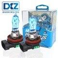 2x автомобильный светильник, лампа дальнего и ближнего света, H11 12 в 100 Вт, супер белый 6000 К, головной светильник