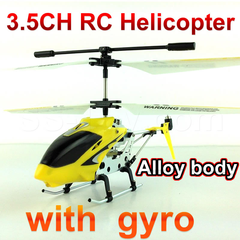 3 5 ch font b rc b font font b helicopter b font with gyro Alloy
