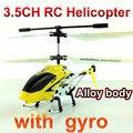 3.5 ch rc helicóptero con giroscopio de Aleación de tres canales de control remoto aviones NSWB