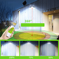 Panel Retro 12LED Safe Bulb Garden Outdoor Waterproof Solar Light Chandelier Super Bright Easy Install Lampshade Remote Control