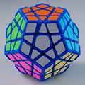 ^_^Free shipping!! DaYan Megaminx I blue with corner ridges