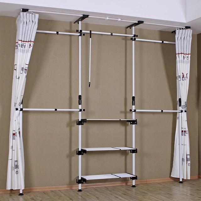 Armario paño Steelframe sencilla guardarropa ropa gran armario ...