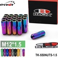 PIVOT - Blox Racing Forged 7075 Aluminum Lug Nuts P 1.5, L : 60mm 20 Pcs/Set TK-550NUTS-1.5