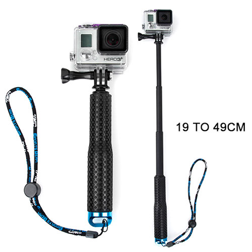 Go Pro Accessories Self pole Monopod for GoPro Hero 4 3+ 3
