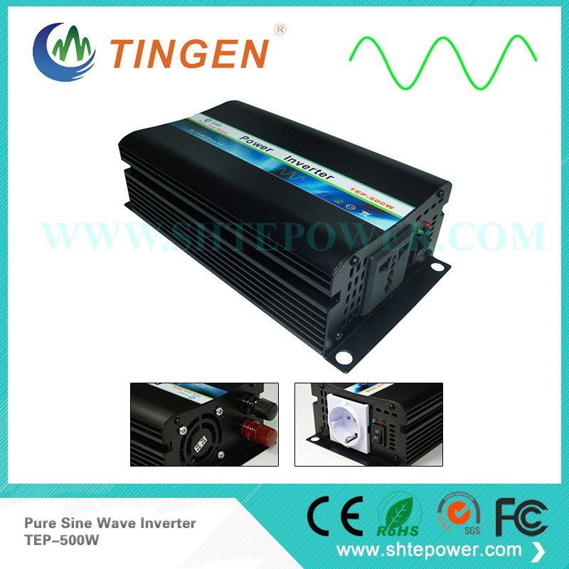 500W Power inverter DC 48V input to AC output pure sine wave 110V/220V AU/EU/US socket Free Shipping TEP-500W off grid tie