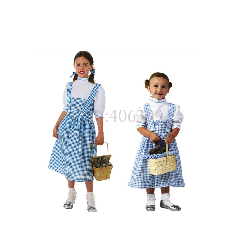 bayi hot dorothy clothing halloween costume adult children cosplay costume for carnival party top quality in holidays costumes from novelty special use on - Dorothy Halloween Costume Women