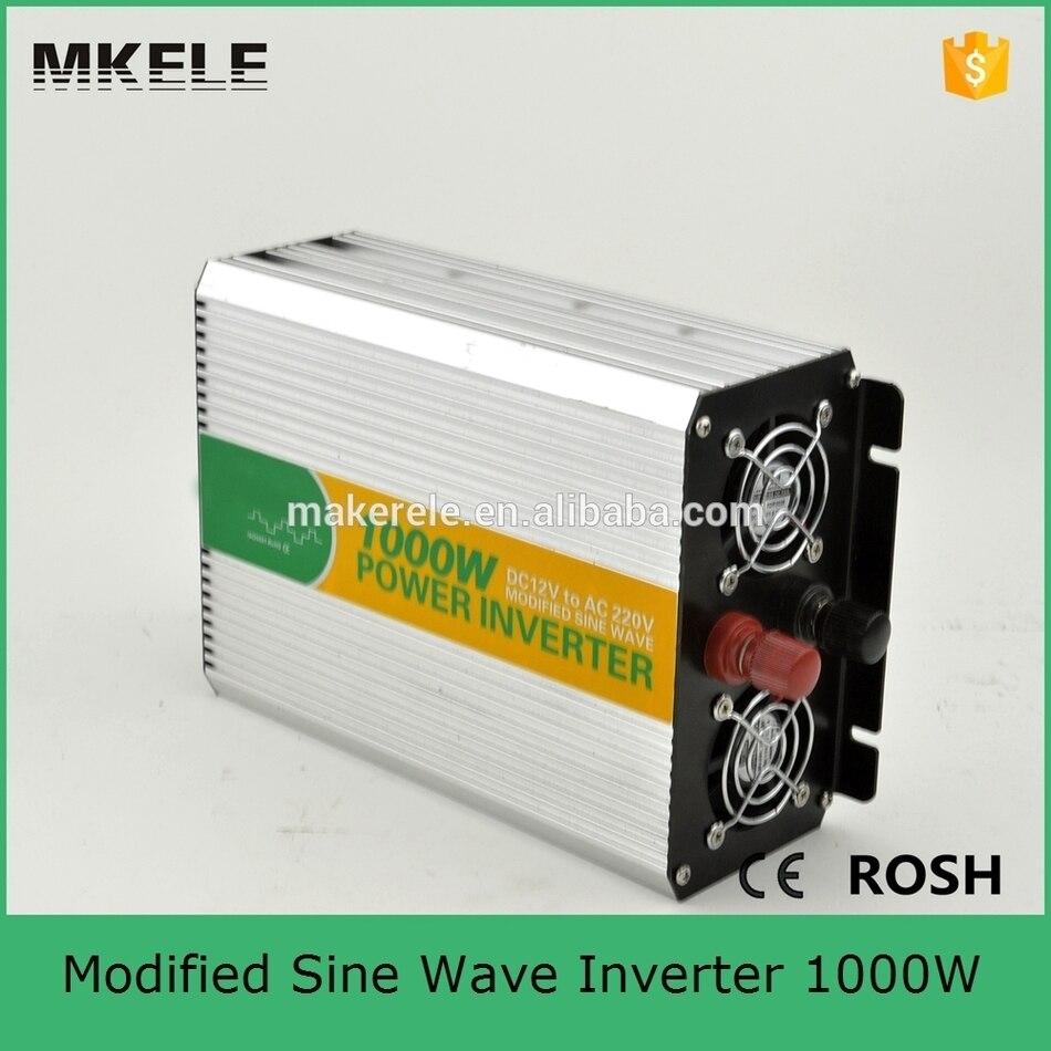 цена на MKM1000-481G modified sine wave form off grid inverter 48v 1000w inverter 110v/220v ac power inverter made in china