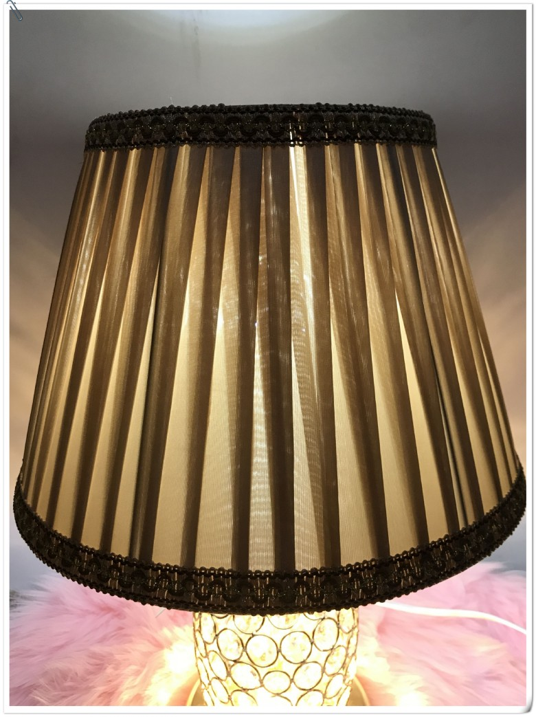 Lampshade for table lamps Lace Abstract simple Pattern Textile Fabrics Fashionable Decorative straight stripe lamp shade fashionable camouflage pattern corduroy jazz hat for men