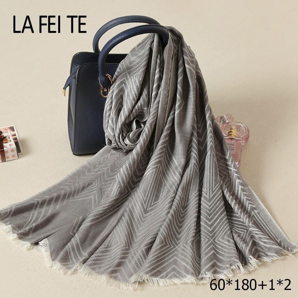 Ladies Cotton Women Scarf Foulard Femme Stole Neckerchief Shawl Bandana Wool Neck Head Viscose Hijab Long Scarves For Women
