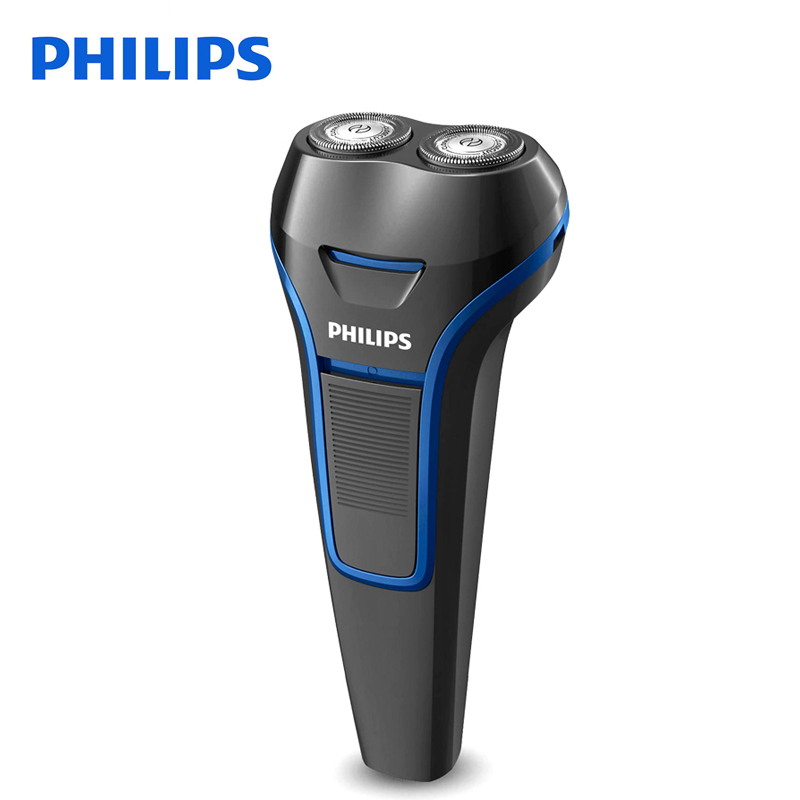 Philips Electric Shaver S100 Rotary Rechargeable Portable Handle Body Washable Men's Electric Razor With Ni-MH Battery philips s531 rechargeable electric shaver water washable razor