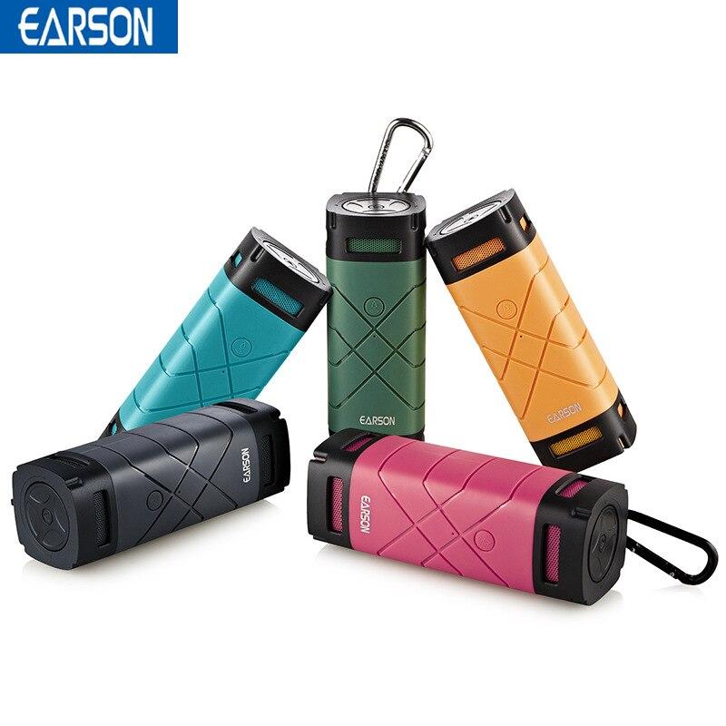 EARSON ER163 Smart Динамик s Открытый селфи Функция Bluetooth Динамик Водонепроницаемый езда на велосипеде Беспроводной Bluetooth Динамик для Iphone