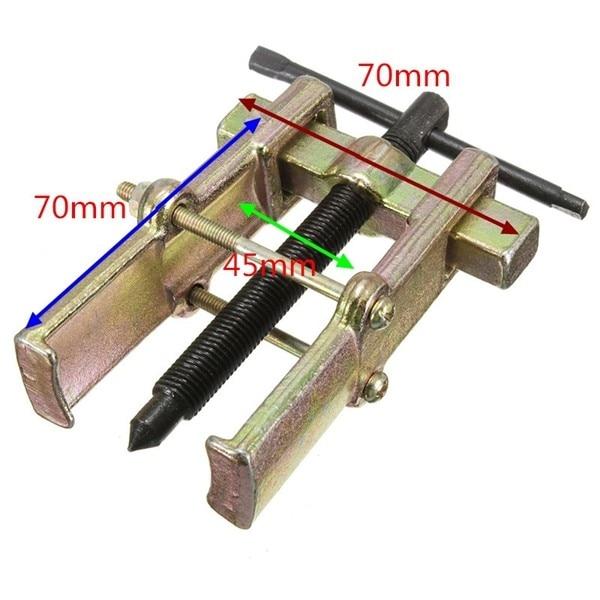 2 Pcs Lot 3 Inch 75mm Two Jaw Arm Bolt Gear <font><b>Wheel</b></font> Bearing Puller Car Auto Repair Tool Bike <font><b>Wheel</b></font> Bearings