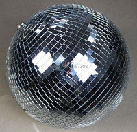 25cm Diameter Clear Glass Rotating Mirror Ball 10 Disco DJ Party Lighting ABC MB 10inch