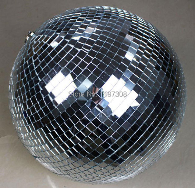 "D25cm glass rotating mirror disco ball 10"" disco DJ party lighting home party stage KTV Bars shop holiday X'mas decoration balls"
