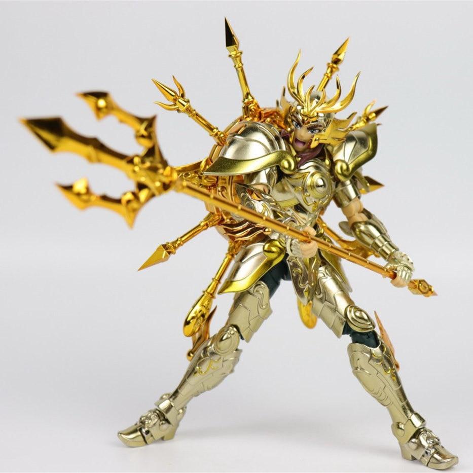 Image 4 - CS Model Saint Seiya Cloth Myth Soul of God SOG EX Gold Libra Dohko metal Cloth SC014Action & Toy Figures   -
