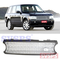 Tuning Parts high quality Front Middle ABS Grille Grill For Land Rover For Range Rover for supercharged Vogue L322 2005 09year