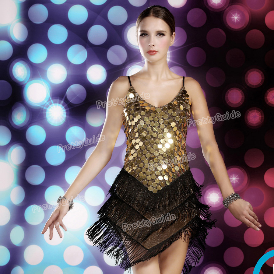 9ea1ab0a795f 2015 Free shippingWomen's 1920s Sequin Fringe Sway Gatsby Flapper Costume  Dance Dress-in Dresses from Women's Clothing on Aliexpress.com   Alibaba  Group