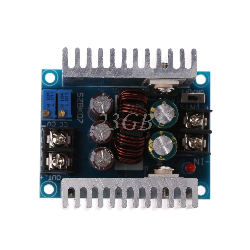 DC 300W 20A CC CV Constant Current Adjustable Step-Down Converter Voltage Buck N27 dc dc automatic step up down boost buck converter module 5 32v to 1 25 20v 5a continuous adjustable output voltage