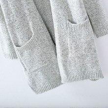 Long Sleeve loose knitting cardigan sweater