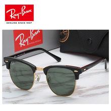 a741fc7fa 2019 RayBan polarizadas Gafas de sol hombres de aviación de conducción  tonos hombre Gafas de sol