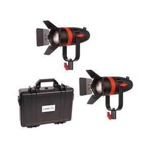 Image 1 - 2 pièces CAME TV Boltzen 55w Fresnel focalisable LED lumière du jour Kit F 55W 2KIT Led éclairage vidéo