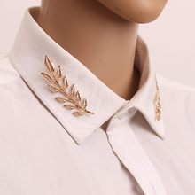 Korean Jewelry Wind Retro Tree Men And Women Universal Brooch Leaf Shirt Suit Collar Wholesale Pins And Brooches Lapel Pin(China)