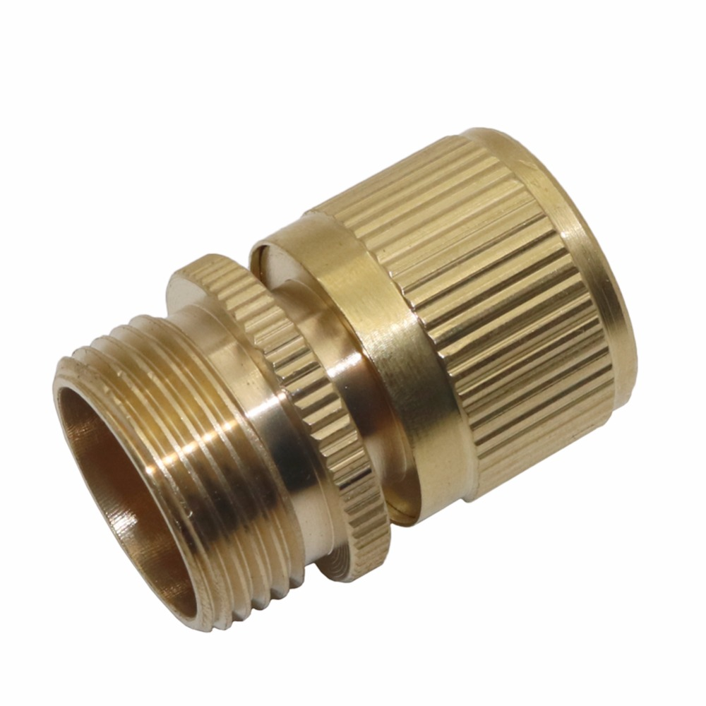 5 Pcs 3/4 inch Male Thread Quick Connector Brass Garden Water ...
