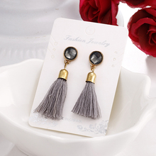 Long Vintage Drop Earrings for Women