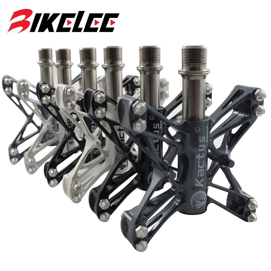 Hot Sale Ultralight 80g Mountain Bike Pedals BMX MTB Road Cycling Magnesium Pedal Platform CNC Titanium Ti Axle Spd Pedals ollin professional bionika интенсивная маска против выпадения волос intensive mask anti hair loss 450 мл