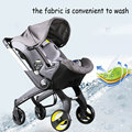 three-in-one fashion hot baby stroller special design for newborn baby stroller multifunctional cradle&safety seat