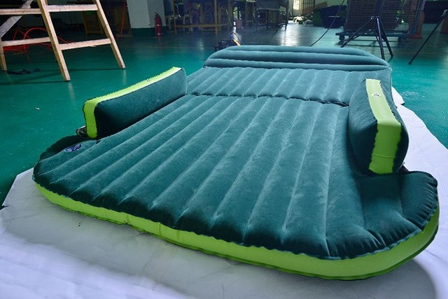 universal lowest price  SUV Inflatable Mattress With Air Pump Travel Camping  Car Back Seat Sleeping Rest Mattress Car Sex Bed