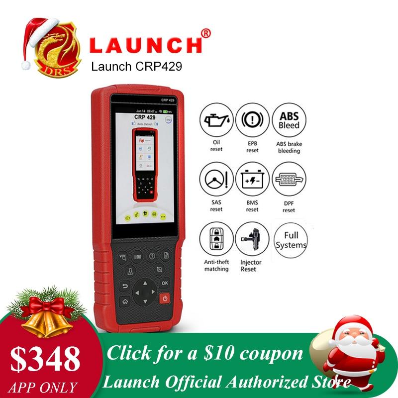LANCIO X431 CRP429 OBDII Strumento di Diagnostica per Tutti I Sistemi OBD2 Scanner Automotive Strumenti di Auto Lettore di Codice di Scansione PK Lancio crp429c