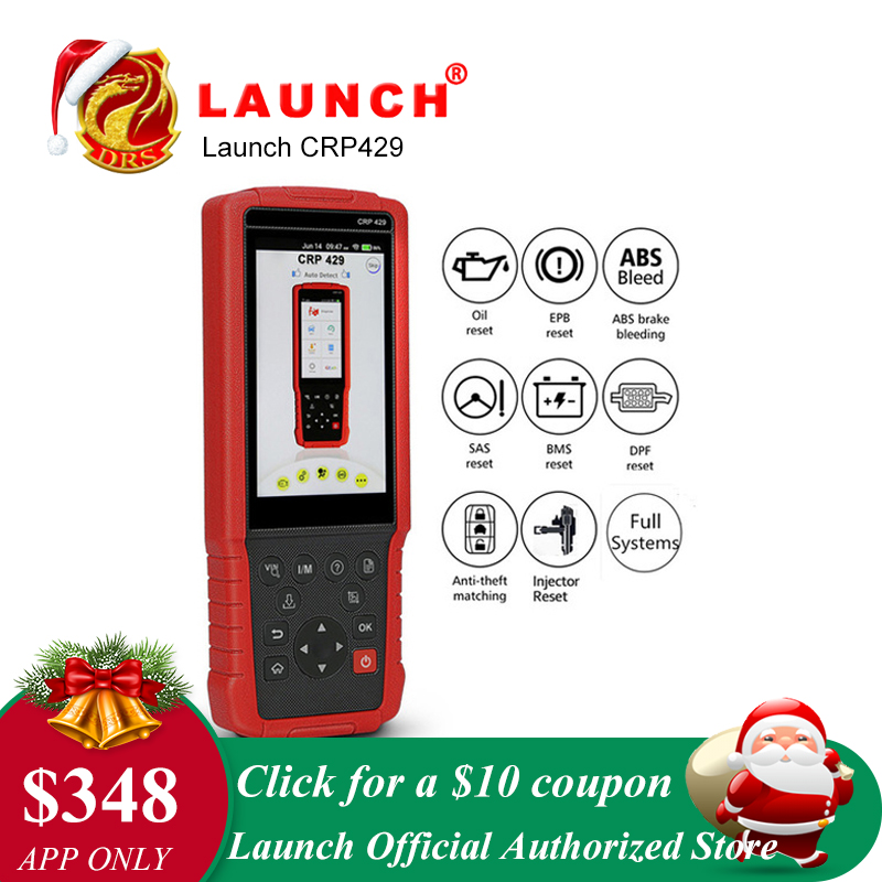 LAUNCH X431 CRP429 OBDII Diagnostic Tool All System OBD2 Sca