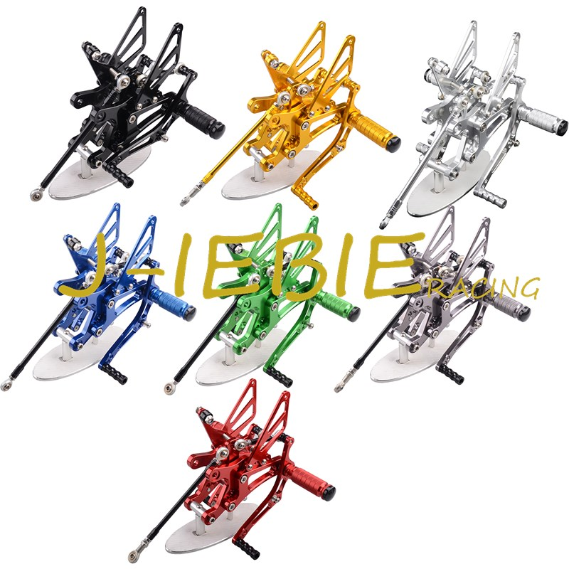 CNC Racing Rearset Adjustable Rear Sets Foot pegs Fit For Yamaha YZF R1 2004 2005 2006 morais r the hundred foot journey