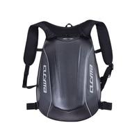 New Hot Motorcycle PU Hardshell Racing Backpack Flow Low Drag Street Riding Bag Helmet Bags