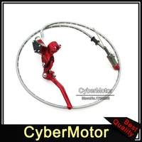 1200mm Red Motorcycle Hydraulic Handle Clutch Lever Master Cylinder Pump For 125cc 140cc 150cc 160cc 200cc