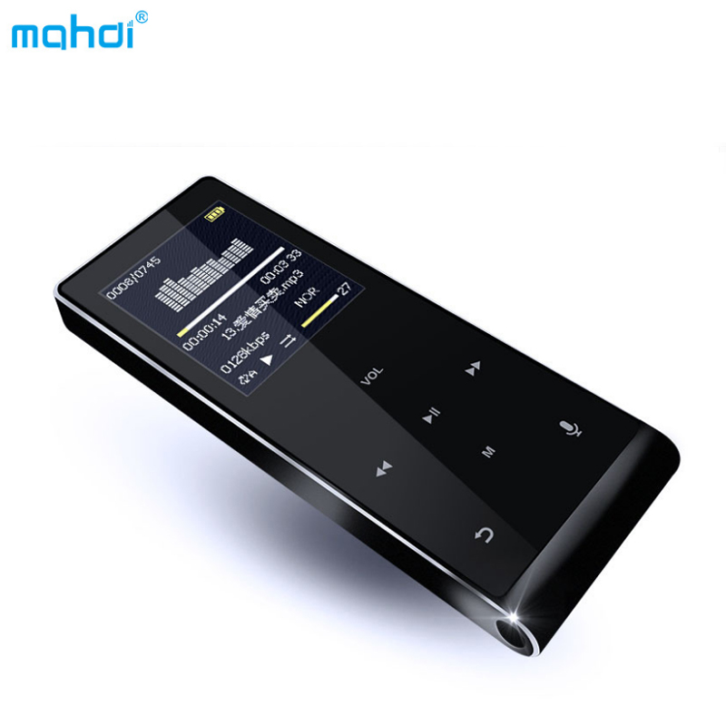 Mahid M290 8GB MP3 Music Player 4.0 Bluetooth Capacitive touch screen Support 128 TF Card Lossless Music HIFI FM Radio Recorder