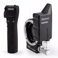 Aputure DEC Lens Regain for MFT Camera 0.75x Focus Reducing Adapter Telecompressor Optic Reducer wireless focus controller
