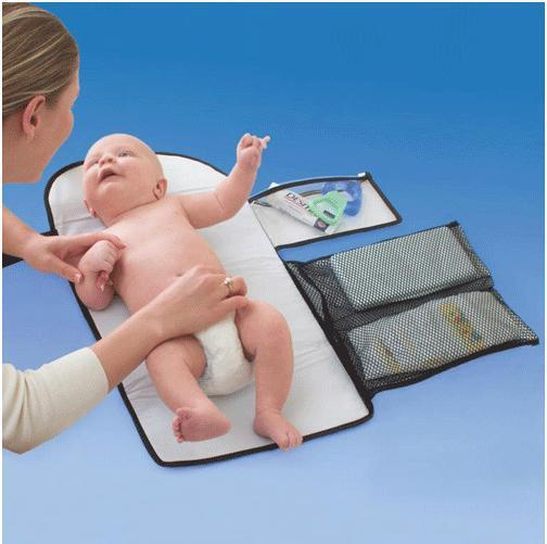 Newborn Baby Infant Home Travel waterproof  Baby Changing Mat Cover Waterproof Baby supplies nappy changing chane bag