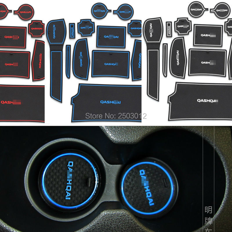 latex anti non slip words interior car stickers cup door groove mat gate slot pad for nissan. Black Bedroom Furniture Sets. Home Design Ideas