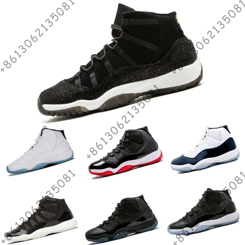 Wholesale Basketball shoes 11 Prom Night Gym Red Midnight Navy Heiress Black Stingray Bred Concord Shoes 11s Mens SneakerWholesale Basketball shoes 11 Prom Night Gym Red Midnight Navy Heiress Black Stingray Bred Concord Shoes 11s Mens Sneaker