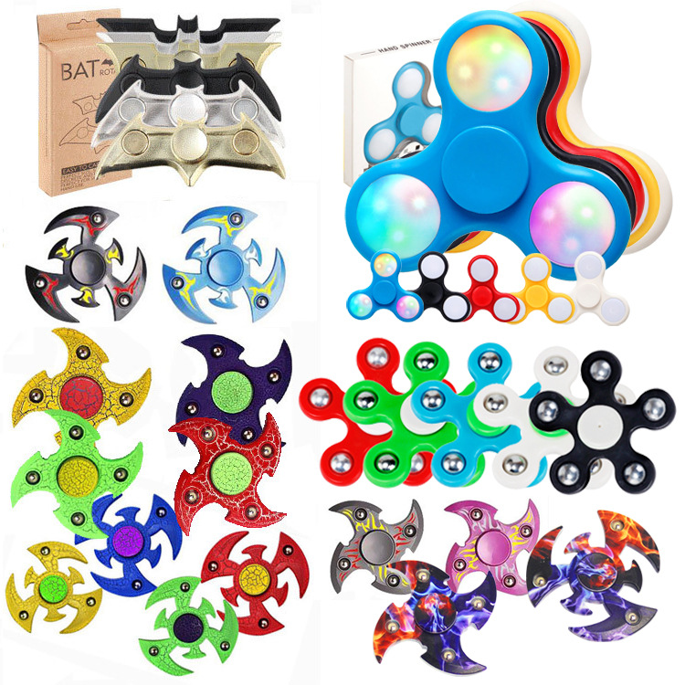 New Matte Spiner Tri-Spinner Fidget Toy Plastic EDC Hand Spinner For Autism and ADHD Rotation Time Long Anti Stress Toys creative ceramic tri spinner fidget toy edc hand spinner for autism and adhd stress relieve toy rotation time beyond 6 minutes