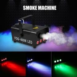 Светодио дный светодиодный сценический эффект освещения 400 Вт беспроводной контроль дымовой машины RGB светодио дный светодиодный