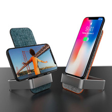 qi Fast wireless charging desktop charger for iphone xs 8 plus samsung s9 nokia lumia 1520 huawei mate20 pro adapter