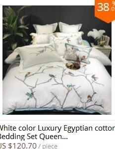 2  White silver cotton imitate silk luxurious Bedding Set queen king measurement mattress set Bedsheets linen Europe embroidery Quilt cowl set HTB1tedIIN1YBuNjy1zcq6zNcXXad